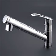 KVK 浄水器内臓キッチン水栓